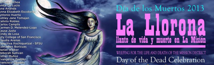 Day of the Dead/Dia de los Muertos Celebration.   Nov 2  – 6pm to 9pm